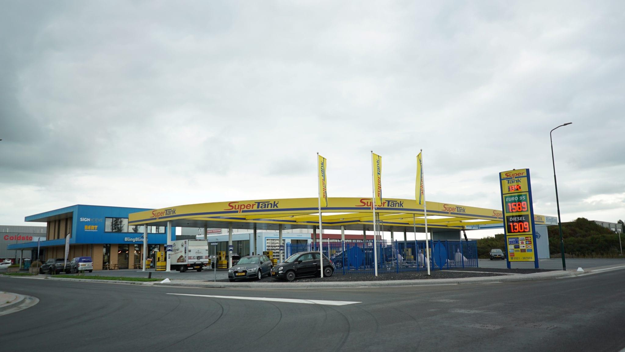 Tankstation Bunschoten